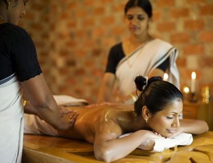 Ayurvedic Healing Village, where Yoga & Meditation is offered in conjunction with Authentic Ayurveda.