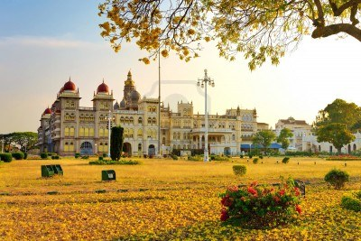 India at famous place In Mysore where you relax your mind and body