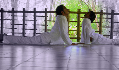Training in Yoga & Meditation is offered at Kairali The Ayurvedic Healing VIllage.